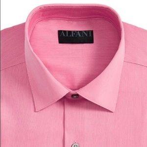 Men's Bedford Cord Classic/Regular Fit Dress Shirt